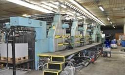 深圳供应二手进口1992年罗兰R806-6+L全张加过油六色印刷机