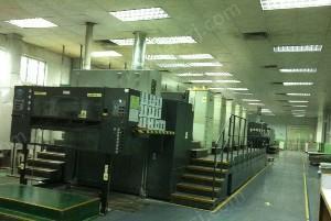 深圳低价供应R905二手罗兰高宝印刷机