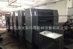 深圳供应2006年海德堡SM74-4H(四开四色)高配印刷机