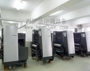 深圳出售2002年4开4色CD74-4F二手海德堡印刷机