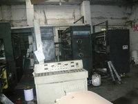 急售二手880轮转胶印机