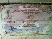 出售洋马M220AL一UN柴油机