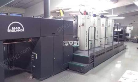 二手进口印刷机转让