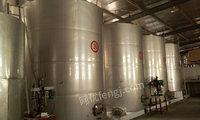 高价采购二手葡萄酒设备、各种果酒厂设备