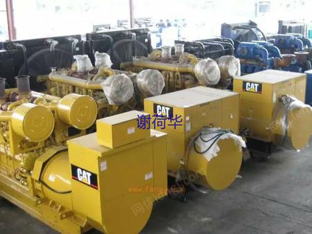 供电康出售卡特二手进口柴油发电机