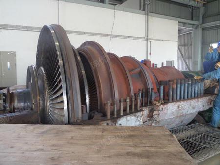 华润热电出售二手汽轮机组联合循环式120MW+60MW一套