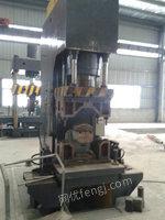 出售二手桥壳轴头成型机HX-Q131、圆管推方机HX-Q132等机器设备