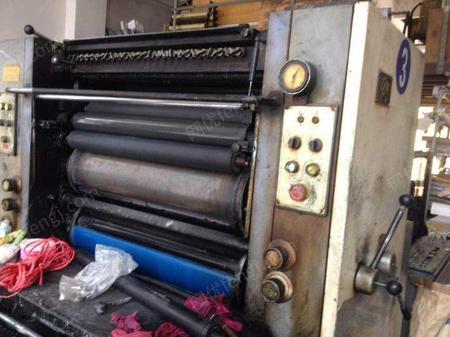 急出售006年景德镇740单色印刷机