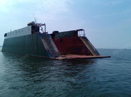 浮吊船回收