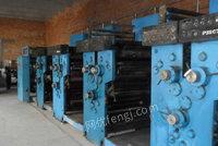 出售上海高斯4787书报轮转印刷机一台