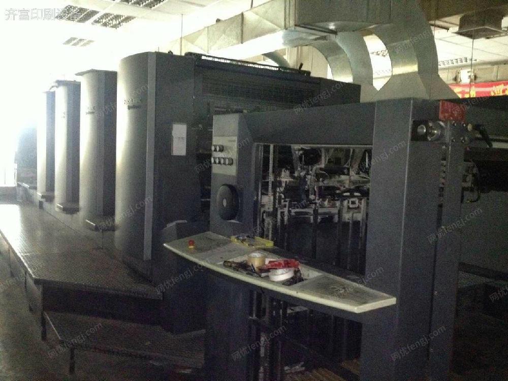 低價陕西11选5开户06年海德堡CD102_四色标配厂机