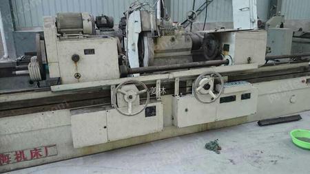 出售上海产600X3米曲轴磨床