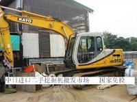 日韩进口二手挖掘机上海交易市场