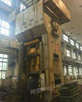 出售一台1250吨闭式单点压力机