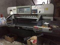 2012年温州振威1370程控切纸机