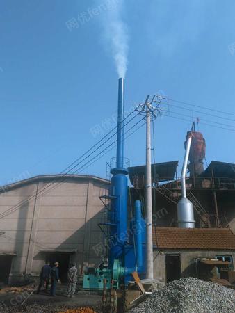 型钢厂处理水除尘器、风机、脱硫塔、热交换器、防腐泵、搅拌机等环保设备1整套