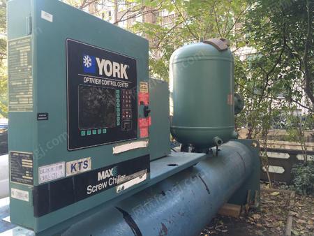 出售二手约克YRVDVCT1550A冷冻机组