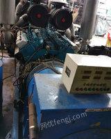 低价出售二手南通12V135柴油发电机组500KW