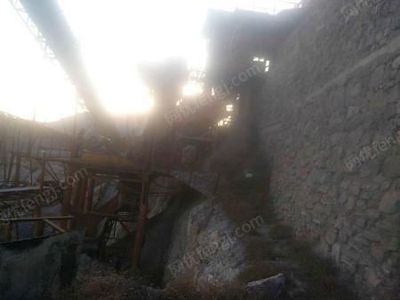 出售二手碎石生产线,750-1060碎石生产线安装后运行2个月