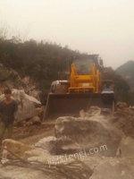 因石材厂停止开采出售二手厦新叉装机