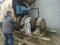 出售二手船用柴油机一台.重庆潍柴产