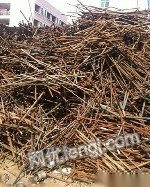 高价回收废铁废铜线废钢筋废角钢废铝线
