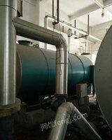 出售二手燃油锅炉YYW-1400Y广州产2008年