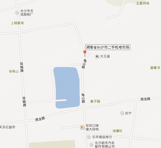 长沙汽车东站二手机电市场