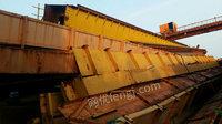 出售二手双梁行车10吨-3吨16.5m葫芦双数台