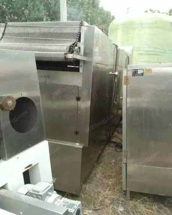 出售二手不锈钢列管式冷凝器 板式换热器 螺旋板换热器