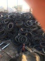 处置营运中的废旧轮胎胶粉加工厂