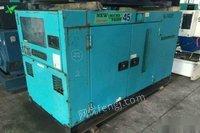 处理库存二手进口优质柴油机组30千瓦电友dca-45sph