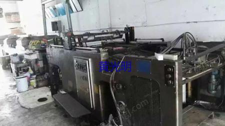 出售二手1020型劲豹全自动丝印机