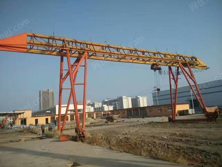 转让10吨18米葫芦龙门吊一台
