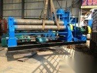 出租出售16x2200圆钢机械卷板机(50吨滚轮架)