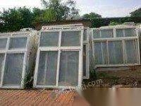 高价回收二手木地板,旧门窗,铝合金,塑钢,断桥铝,