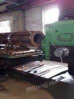 处理中捷130镗床带付导轨四柱液压机杭州平面磨床