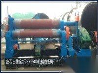 出租出售25x25机械卷板机(50吨滚轮架)