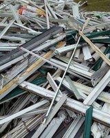 长期收购塑钢废料。pvc废料
