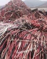 浙江宁波出售1000多吨pvc电缆线皮