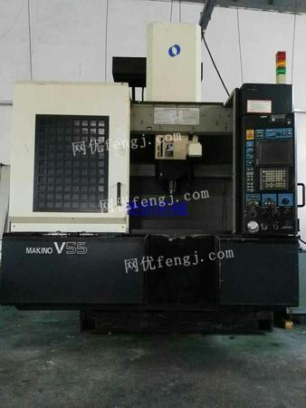 Sale of the imported high precision CNC high-speed machining center.