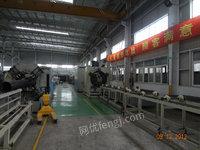 供应6成新钢带缠绕管生产线/实壁管生产线4套