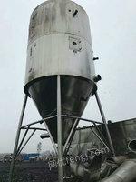 出售100型喷雾干燥机、15米滚筒烘干机、不锈钢48型烘箱