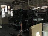 工厂低价处理海德堡双色印刷机120