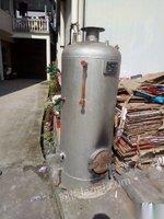 出售汽水锅炉8.5成新