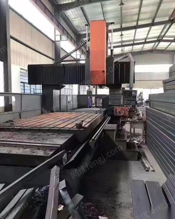 转让库存龙门加工中心3-4米龙门加工中心台湾新颖