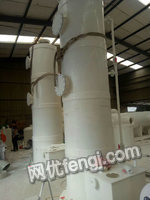 出售PP真空机组、废气回收塔、喷淋塔、PP塑料罐设备