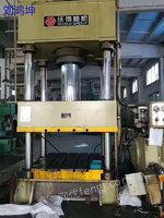 出售沃得精力YQ27-500吨四柱液压机
