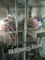出售1吨、3吨、5吨搪瓷、不锈钢反应釜、出售、玻璃钢罐、不锈钢罐