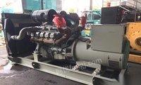 供应进口440kw韩国大宇柴油发电机组